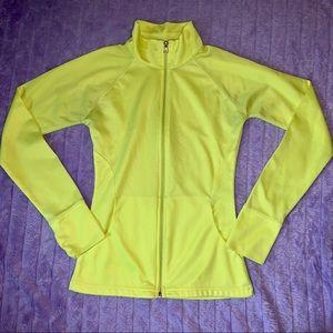 Rue21 | Neon Yellow Athletic Zip-up Jacket